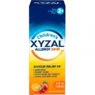 Xyzal Children's 24 Hour 2.5mg Allergy Relief Tutti Frutti Flavor Liquid - 5oz