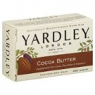 Yardley of London Cocoa Butter Bath Bar Soap- 4.25oz
