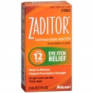 Zaditor Eye Itch Relief Drops- 0.17oz