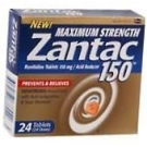Zantac Maximum Strength Tablet 150mg - 24
