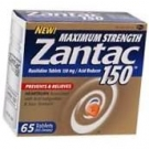 Zantac Maximum Strength Tablet 150Mg - 65ct