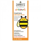 ZarBee's Naturals Children's Cough Syrup, Natural Cherry Flavor - 4oz