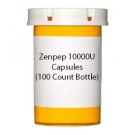 Zenpep 10000U Capsules (100 Count Bottle)