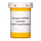 Zenpep 25000U Capsules (100 Count Bottle)