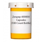 Zenpep 40000U Capsules (100 Count Bottle)
