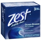Zest Bath Bars, Aqua- 3ct