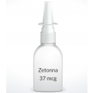 Zetonna 37 mcg Nasal Spray (6.1ml Bottle)