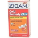 Zicam Cold Remedy Plus Liqui-Loz Cherry Flavor 25ct