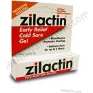 Zilactin Cold Sore Gel - 0.25 oz.