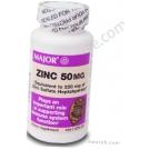 Major Zinc 50mg - 100 Capsules