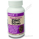 Zinc Mega Potency 50mg - 100 Tablets
