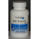 Zinc Sulfate (220mg) - 100 Capsules