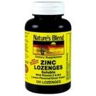 Nature's Blend Zinc Lozenges Lemon Flavored - 120ct