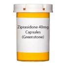 Ziprasidone 40mg Capsules (Greenstone)