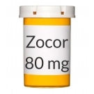 Zocor 80mg Tablets