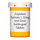 Zolpidem Tartrate 1.75mg Unit Dose Sublingual Tablets