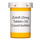 Zoloft 25mg Tablets (30 Count bottle)