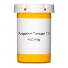 Zolpidem Tartrate ER (Generic Ambien Cr) 6.25mg Tablets