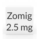 Zomig 2.5mg Tablets - 6 Tablet Box