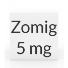 Zomig 5mg Tablets - 3 Tablet Box