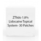 ZTlido 1.8% Lidocaine Topical System- 30 Patches