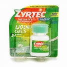 Zyrtec 10mg Liquid Gels- 40ct