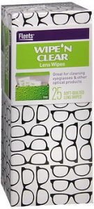 Wipe'n Clear Lens Wipes - 25ct