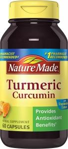 Nature Made Turmeric 500 mg Capsules - 60ct