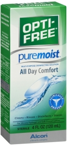 Opti-Free PureMoist Disinfecting Solution - 4.0 fl oz