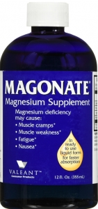 Magonate Magnesium Supplement 12 oz