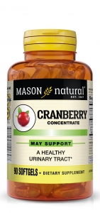 Mason Natural Cranberry Urinary Comfort Softgels - 90ct