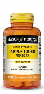 Mason Natural Apple Cider Vinegar Extra Strength Tablets - 100 ct