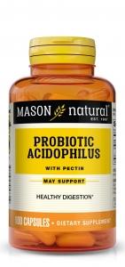 Mason Natural Acidophilus with Pectin, Capsules, 100 ct