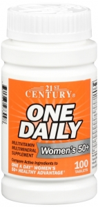 21st Century One Daily, Women's Over 50, Multivitamin Multimineral, 100 Tablets