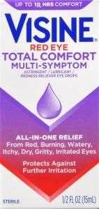 Visine Red Eye Total Comfort Multi-Symptom Eye Drops - 0.5 fl oz