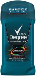 Degree Men Antiperspirant Invisible Stick Sport - 2.7 oz