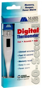 Mabis Digital Thermometer 15-691-000