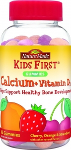 Nature Made Kid's First Calcium Gummy 65ct
