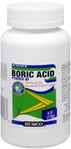 Humco Boric Acid Powder NF 6 oz