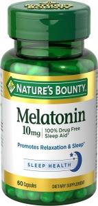 Nature's Bounty Melatonin 10mg Capsules - 60ct