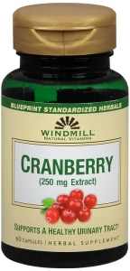 Cranberry Extract 250 Mg Capsules by Windmill - 60 ct