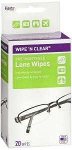 Flents Wipe N Clear Premoistened Tissues - 20