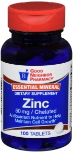 GNP Essential Mineral Zinc 50mg 100 Tablets