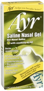 Ayr Saline Nasal Gel with Soothing Aloe - 0.5oz
