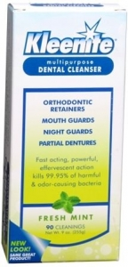 Kleenite Multipurpose Dental Cleanser - Fresh Mint - 9oz