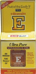 Fruit of the Earth Ultra Pure Vitamin E Oil - .5oz Bottle