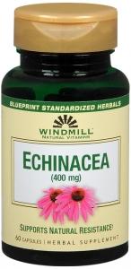 Windmill Echinacea 400mg Capsules - 60 ct