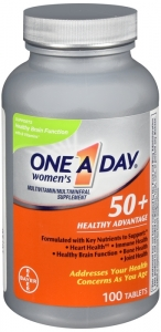One A Day® Women's 50+ Health Advantage Multivitamin / Multimineral Supplement Tablets - 100ct
