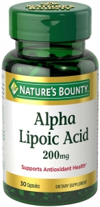 Nature's Bounty Super Alpha Lipoic Acid 200mg Capsules 30ct