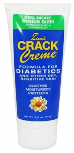 Zims Crack Creme Diabetic Formula -  4 oz